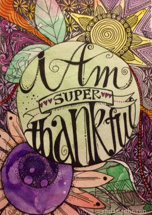 I Am Super Thankful